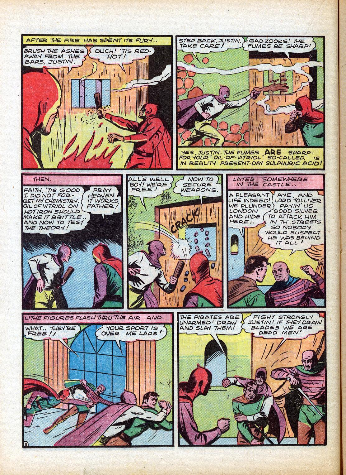 Read online Sensation (Mystery) Comics comic -  Issue #18 - 22