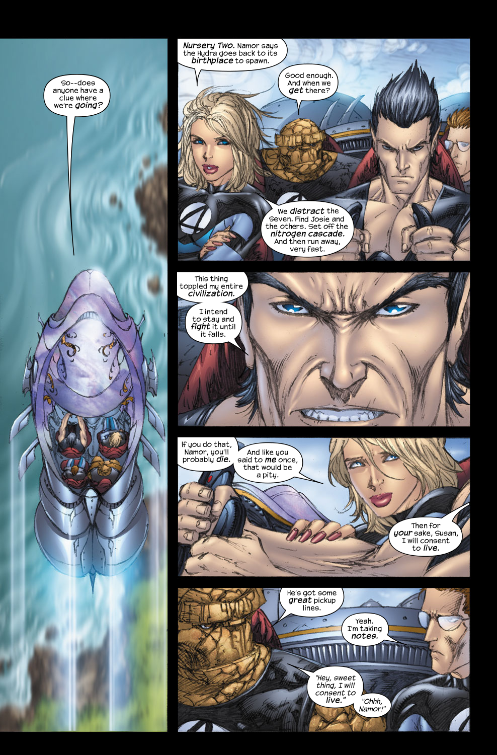 Read online Ultimate Fantastic Four (2004) comic -  Issue #57 - 13