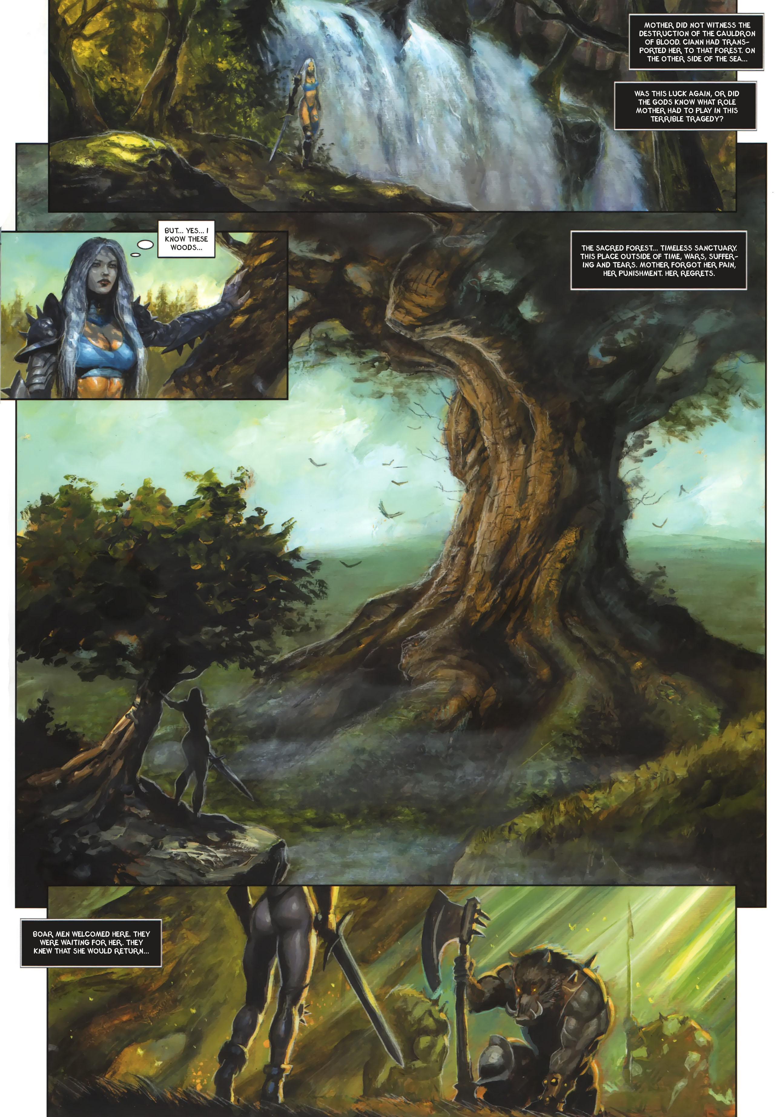 Read online Arawn comic -  Issue #6 - 25
