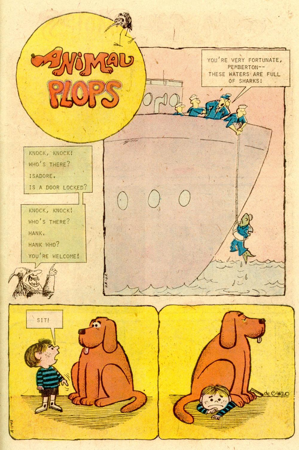 Read online Plop! comic -  Issue #22 - 31