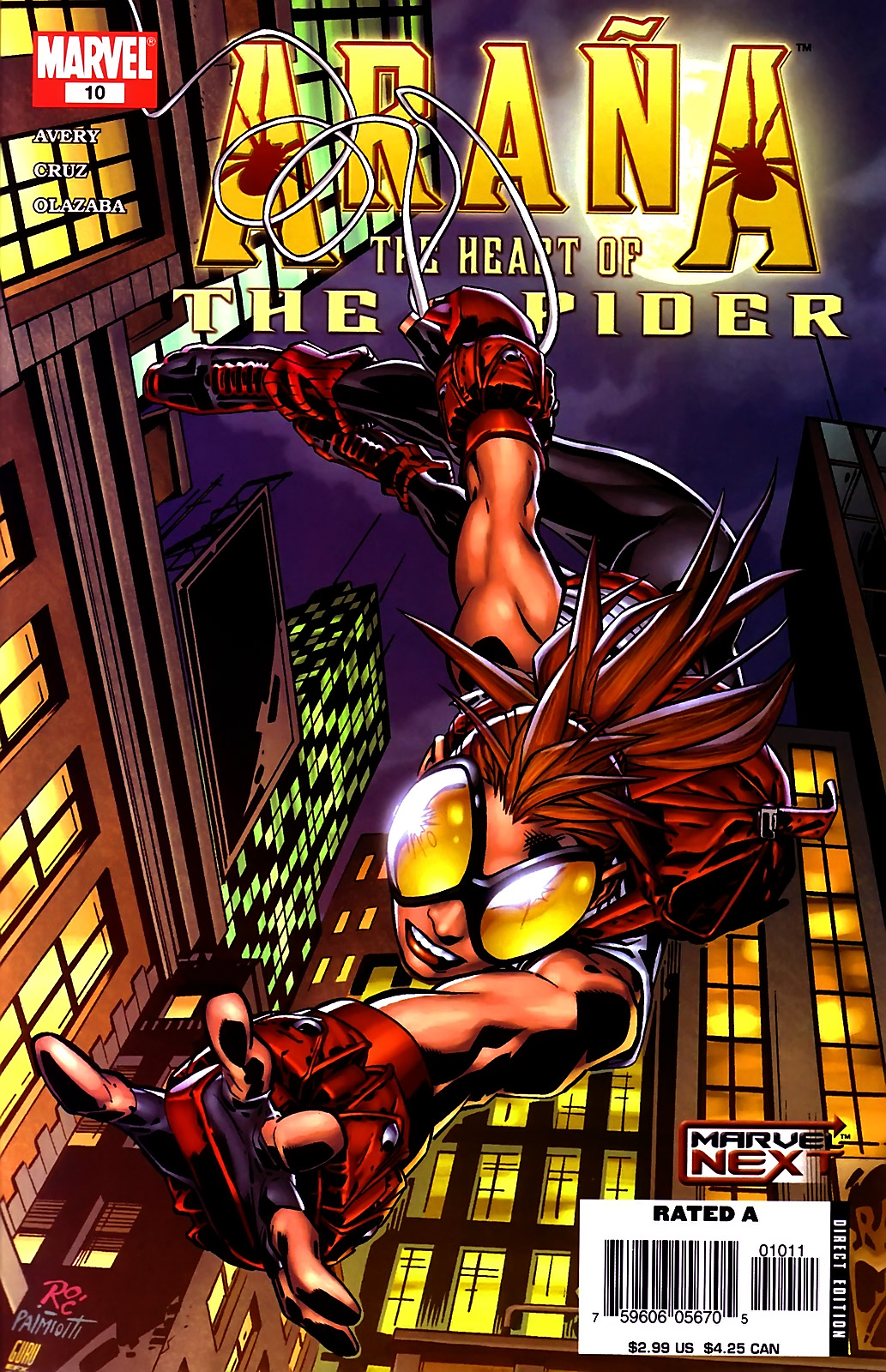 Read online Araña: Heart of the Spider comic -  Issue #10 - 1