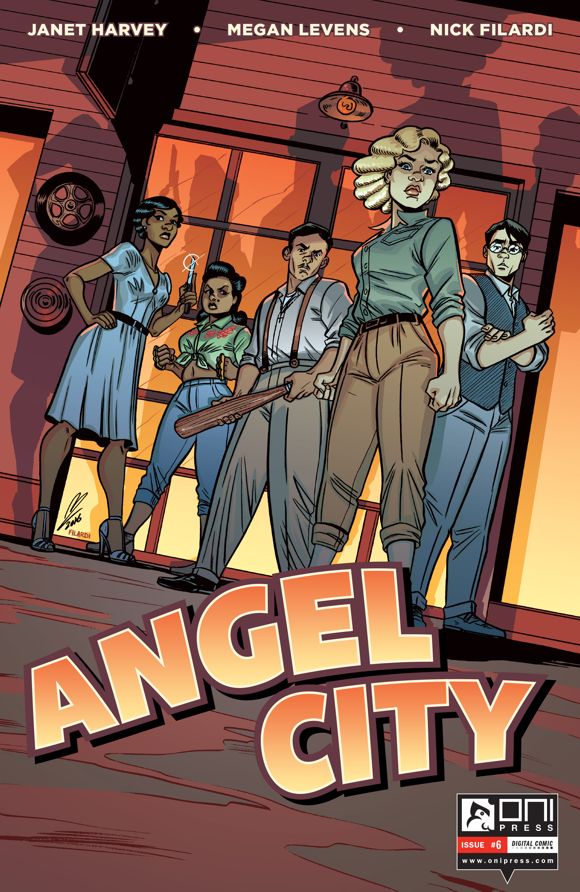 Read online Angel City comic -  Issue #6 - 1