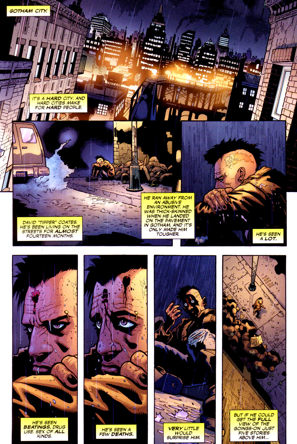 Batman: Under The Hood 1 Page 2