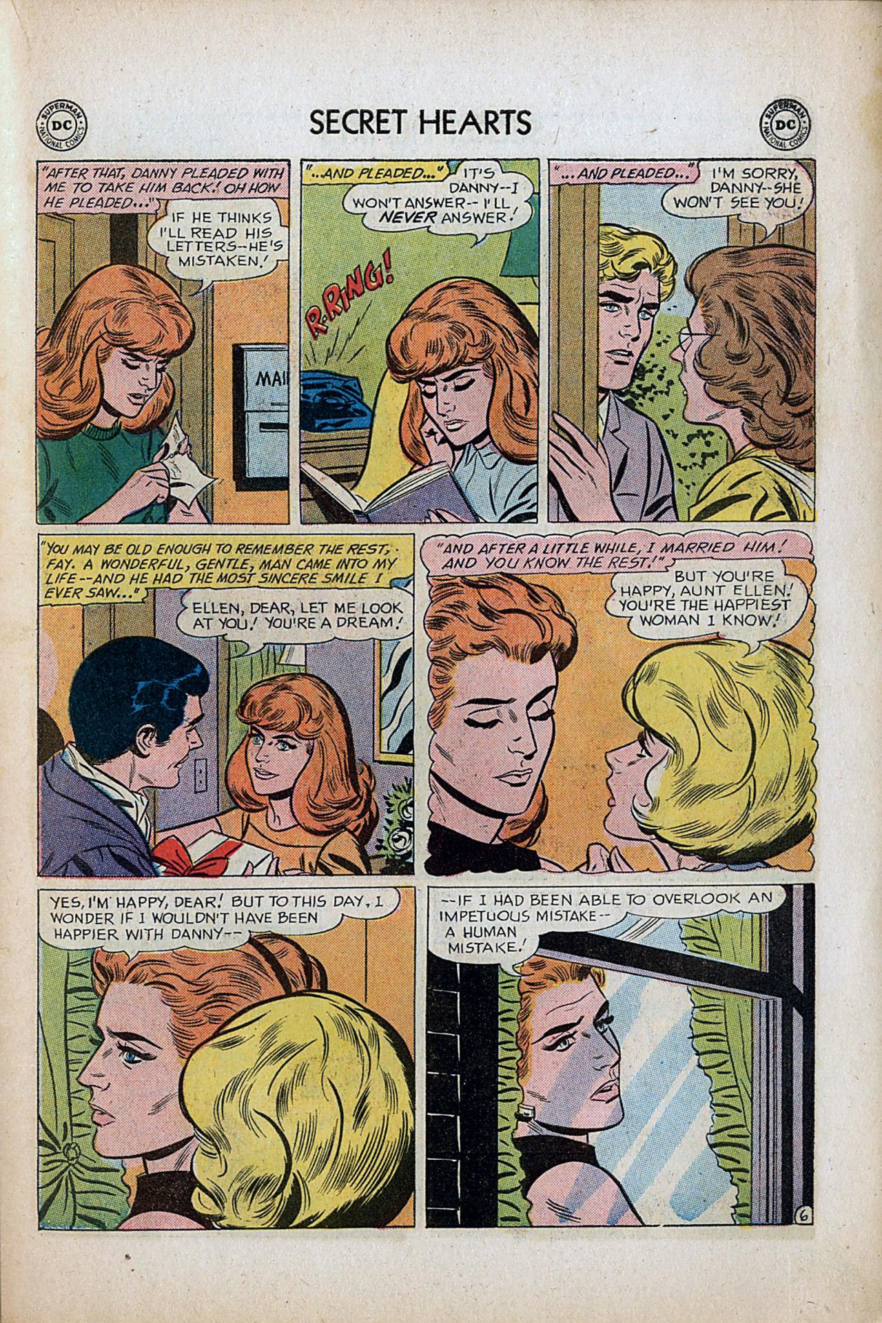 Read online Secret Hearts comic -  Issue #80 - 23