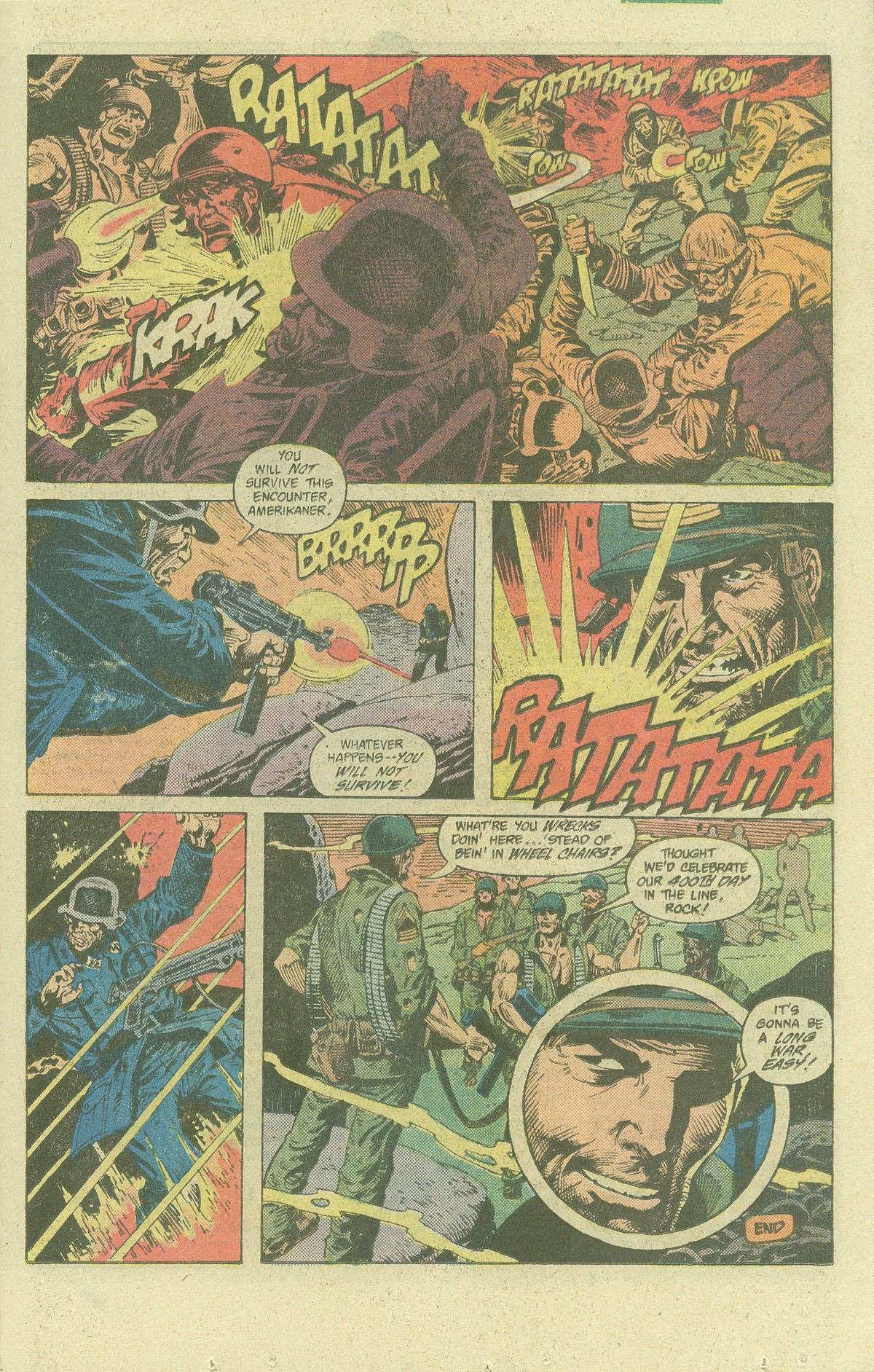 Read online Sgt. Rock comic -  Issue #400 - 20