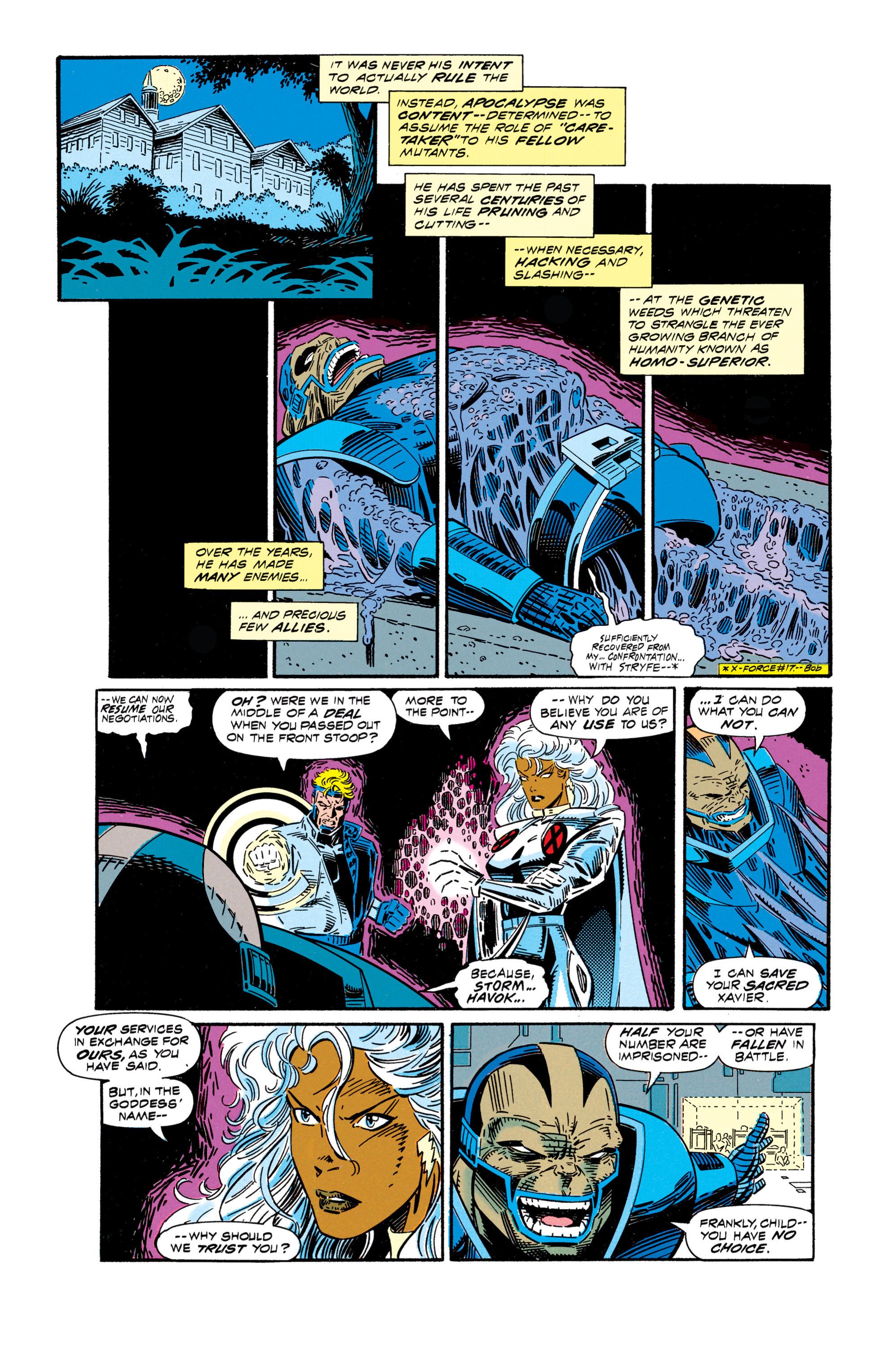 Read online Uncanny X-Men (1963) comic -  Issue #296 - 12