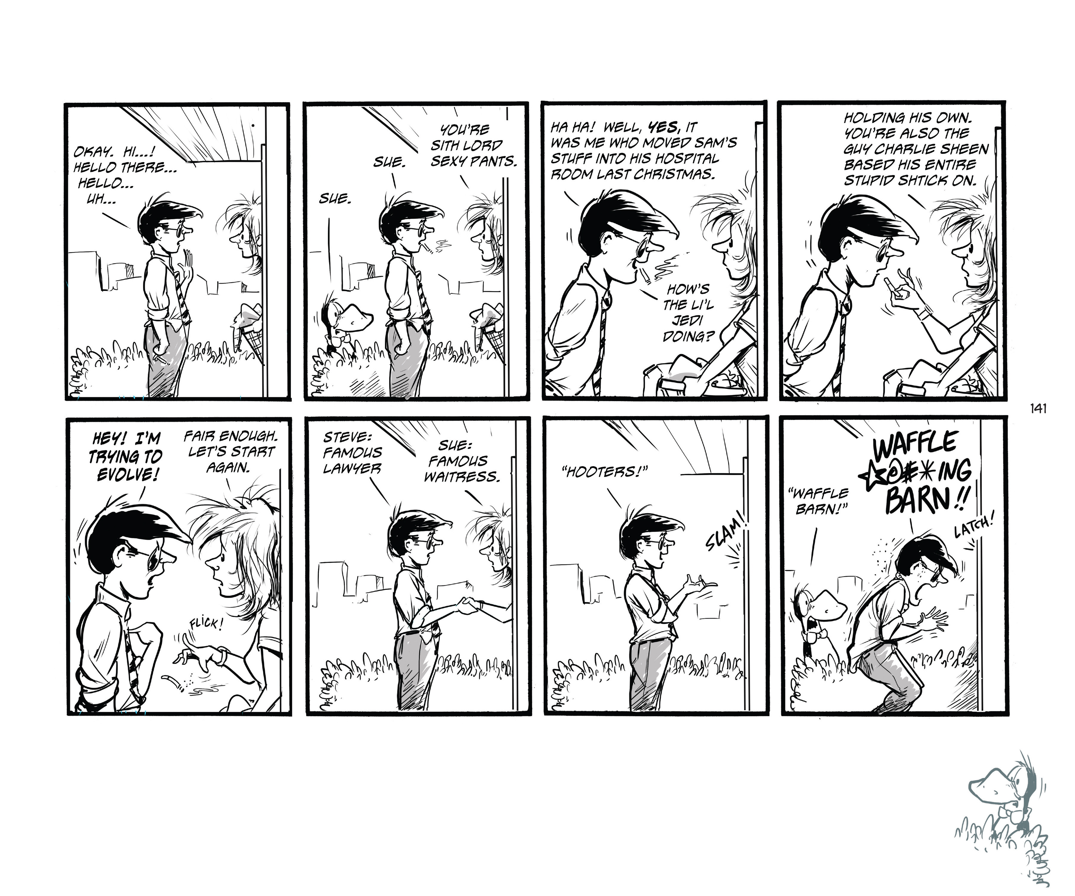 Read online Bloom County Episode XI: A New Hope comic -  Issue # Full - 143