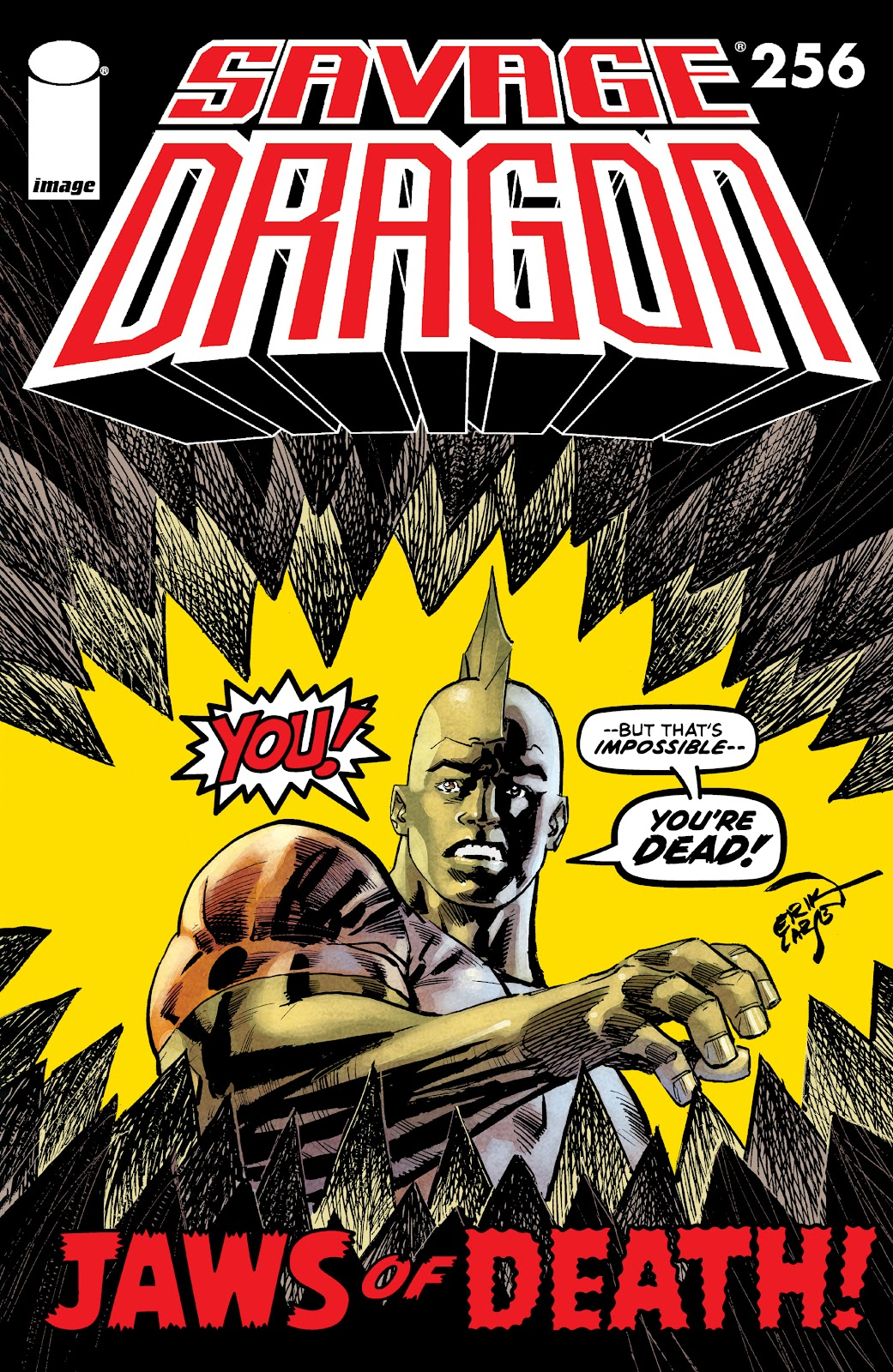 The Savage Dragon (1993) issue 256 - Page 1