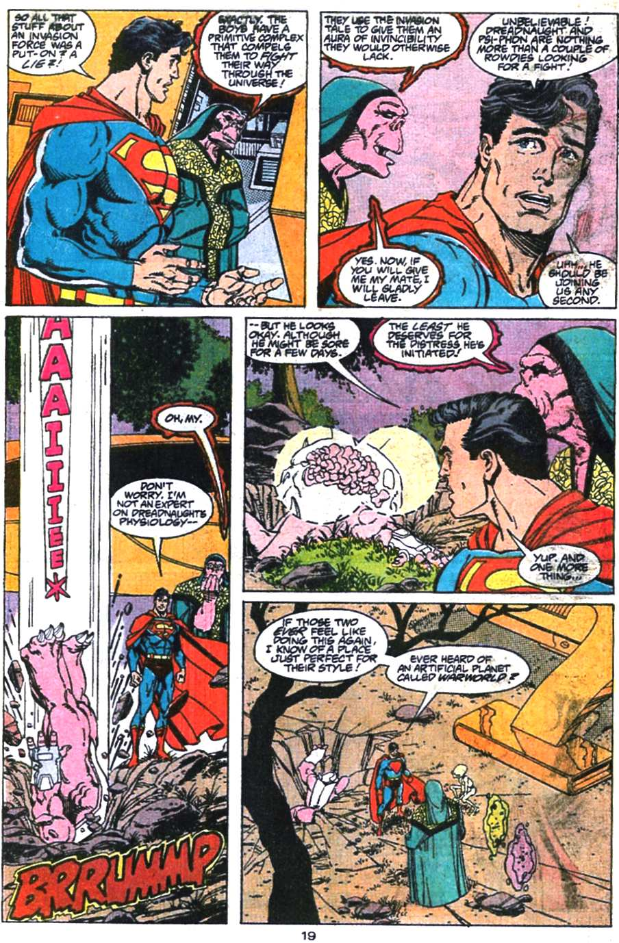 Read online Adventures of Superman (1987) comic -  Issue #469 - 20