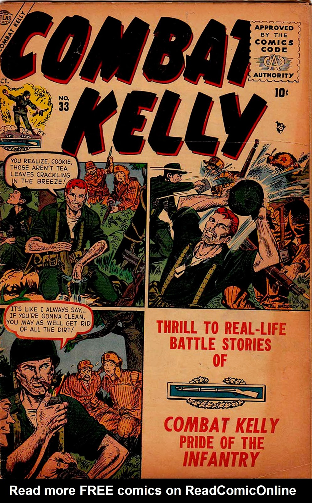 Combat Kelly (1951) issue 33 - Page 1