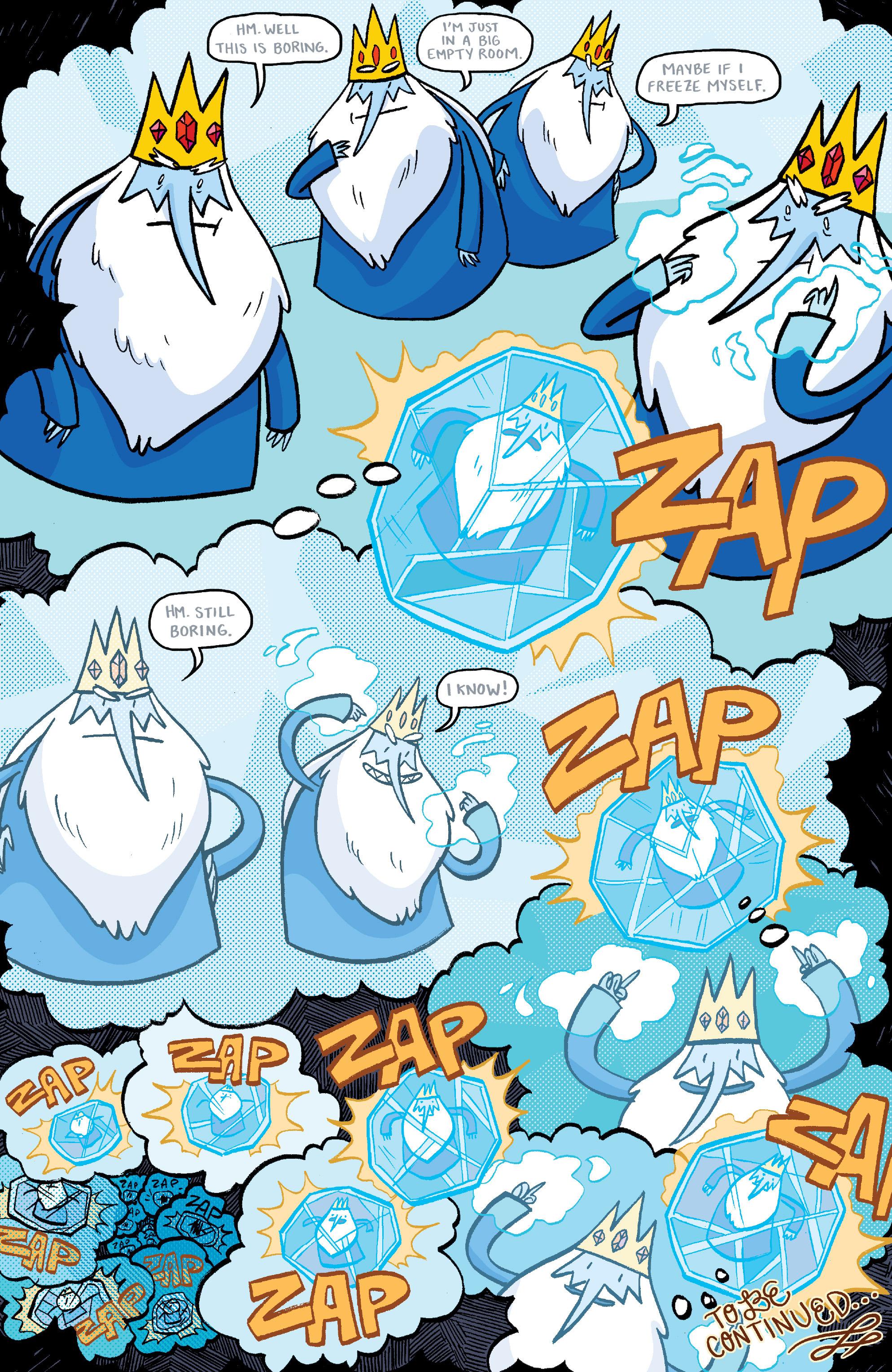 Read online Adventure Time: Banana Guard Academ comic -  Issue #3 - 24
