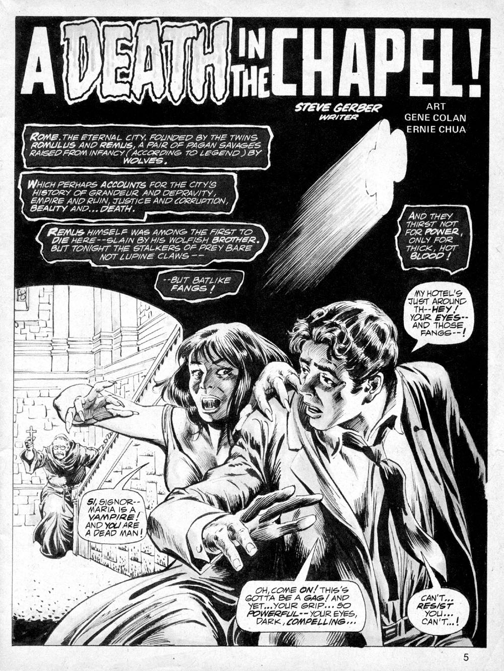 Dracula Lives issue 6 - Page 6