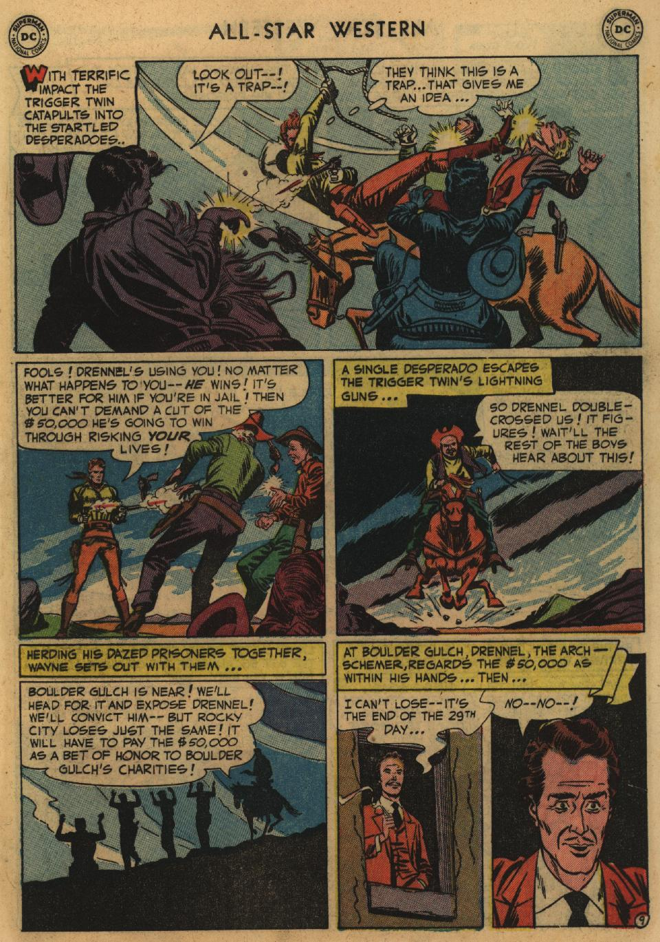 Read online All-Star Western (1951) comic -  Issue #60 - 11