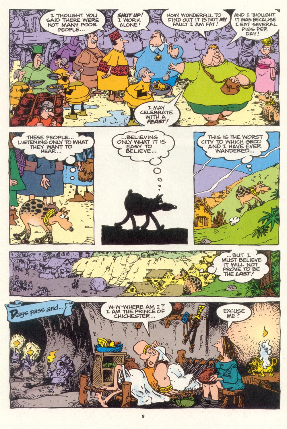 Read online Sergio Aragonés Groo the Wanderer comic -  Issue #119 - 10