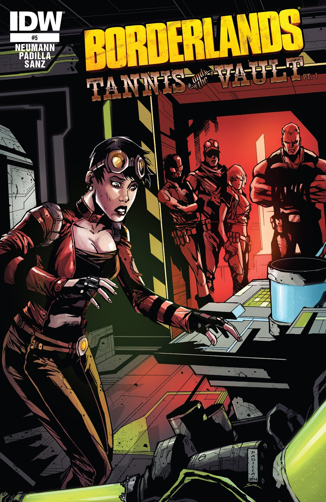 Borderlands: Tannis & the Vault issue 5 - Page 1