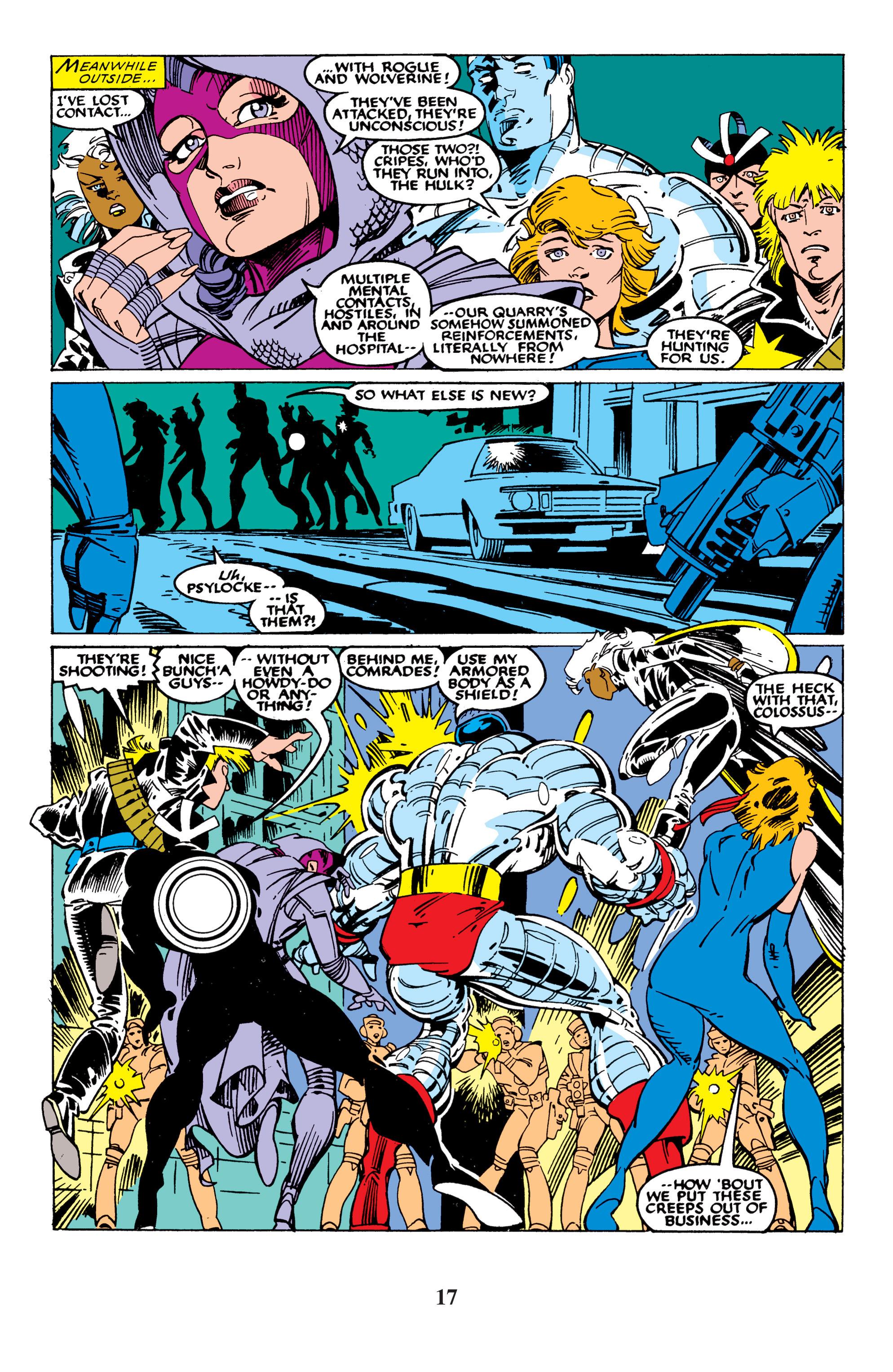 Read online Uncanny X-Men (1963) comic -  Issue #235 - 17