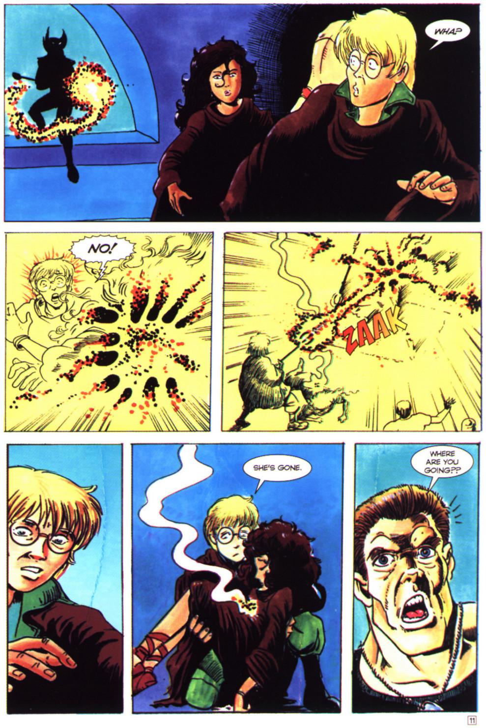 Read online Stargate comic -  Issue #4 - 13
