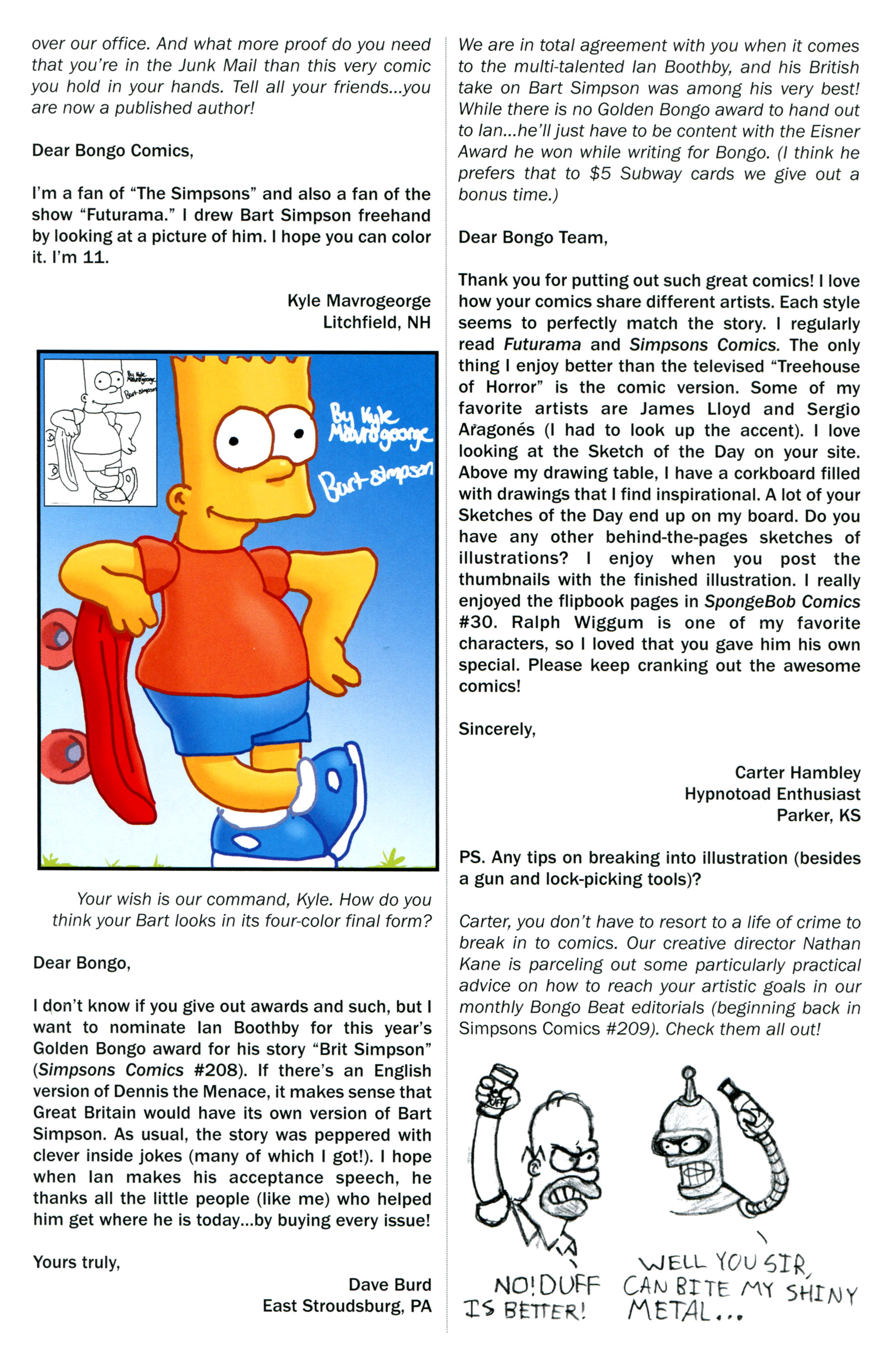 Read online Simpsons Comics comic -  Issue #212 - 29