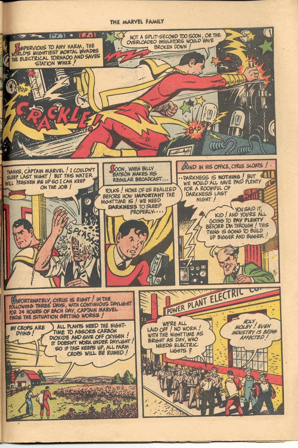 The Marvel Family issue 38 - Page 45
