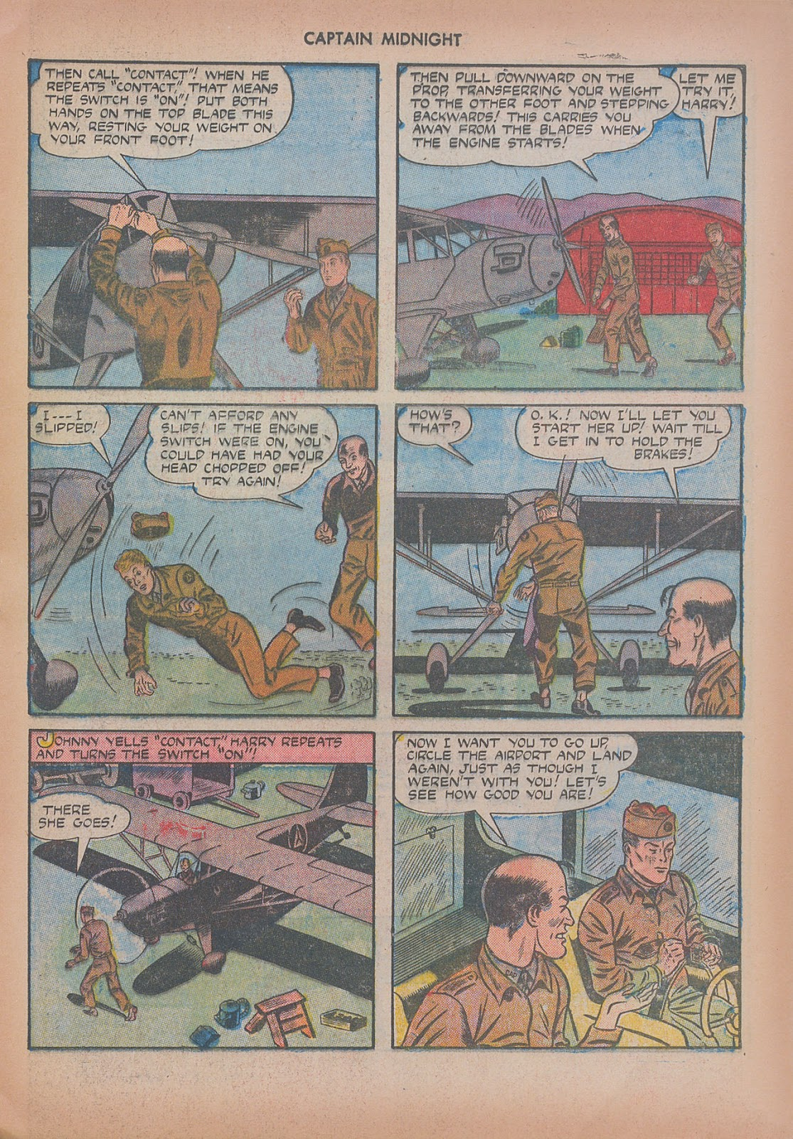 Captain Midnight (1942) issue 20 - Page 25