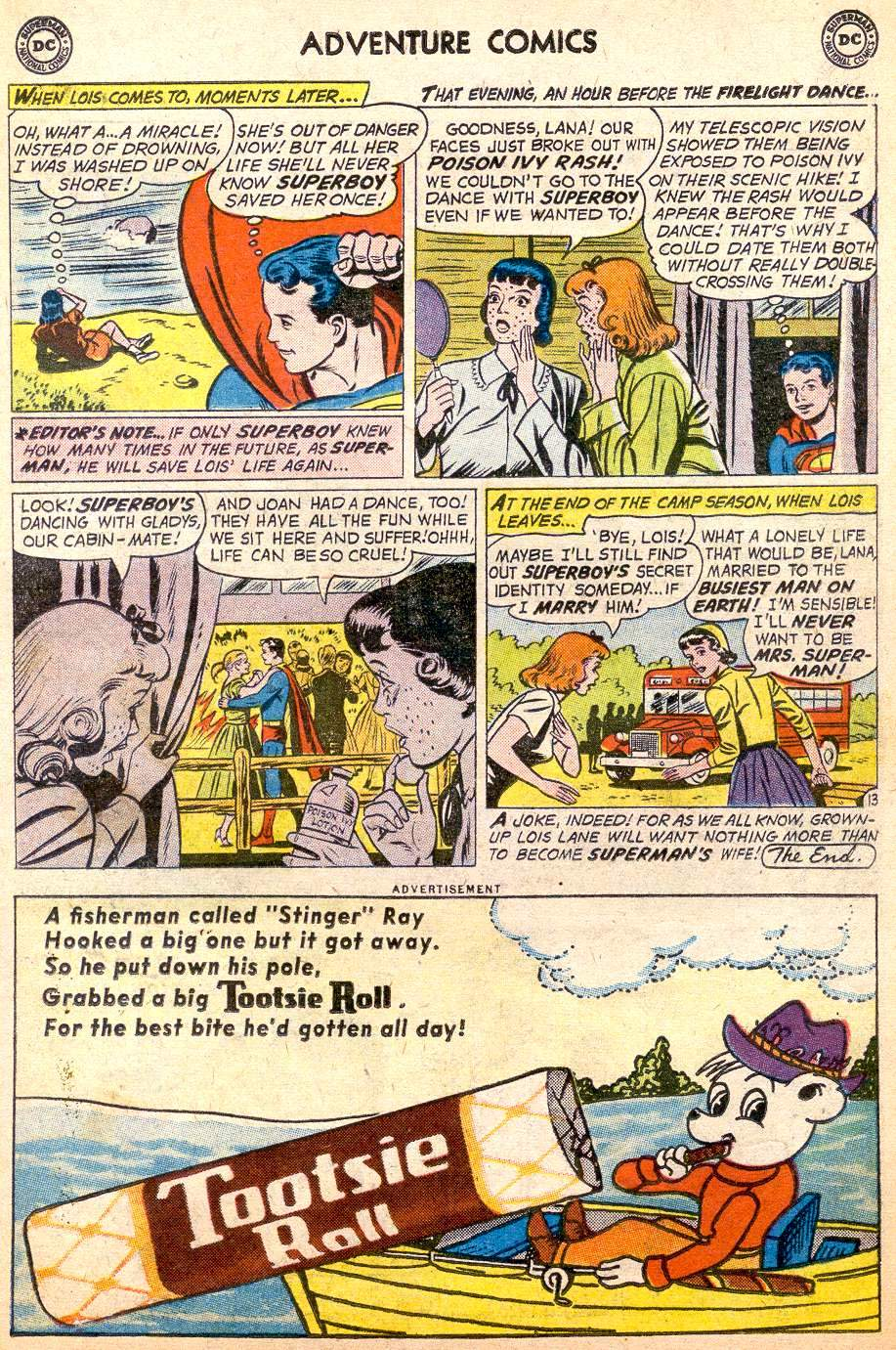 Read online Adventure Comics (1938) comic -  Issue #261 - 15