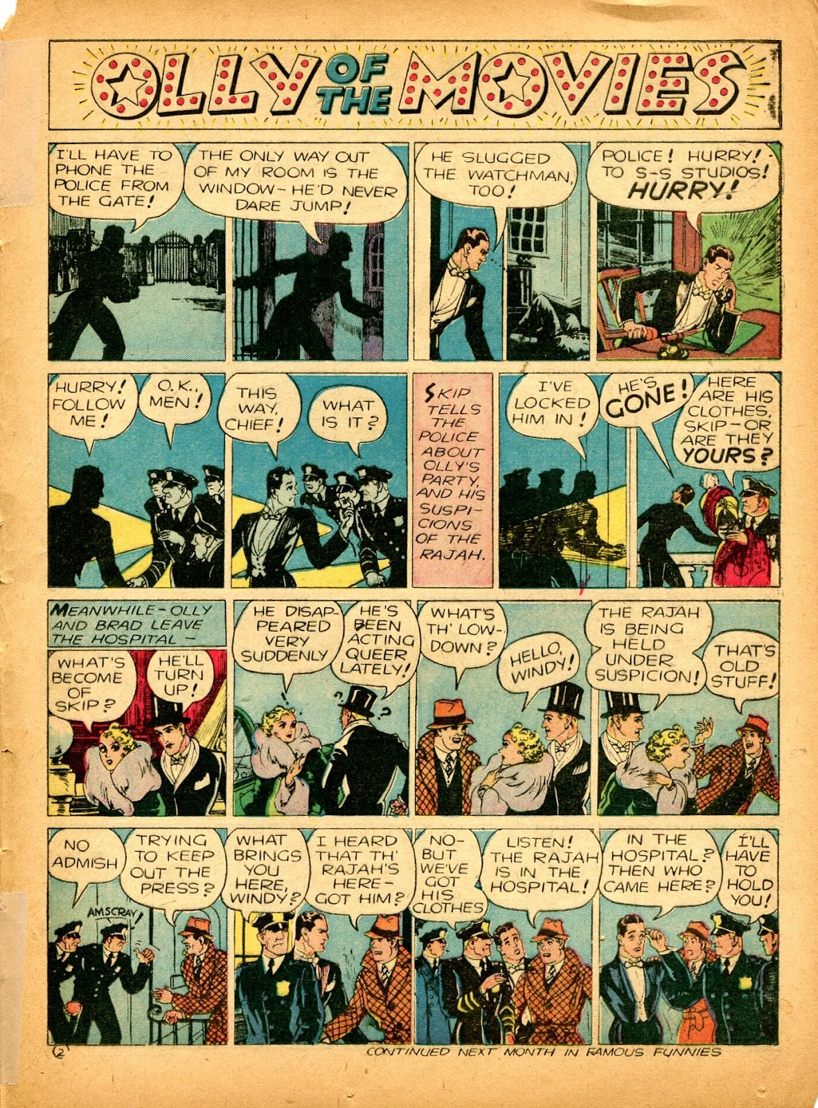 Read online Famous Funnies comic -  Issue #84 - 47