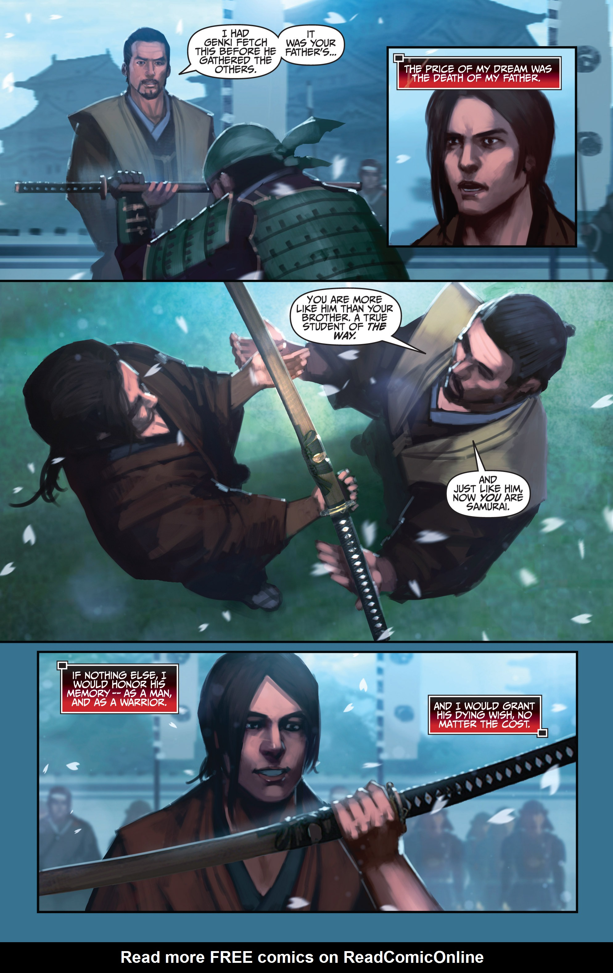 Read online Bushido: The Way of the Warrior comic -  Issue #4 - 12