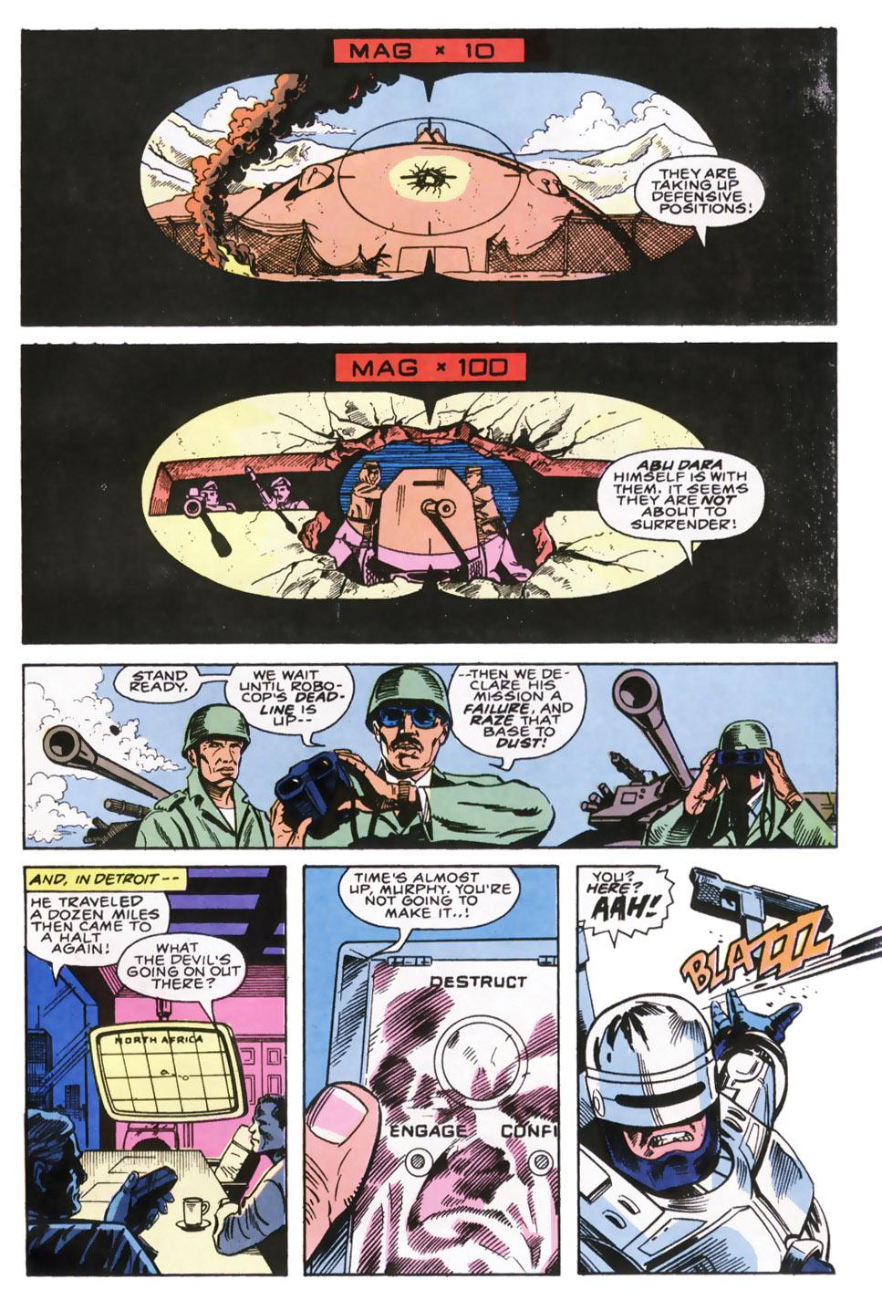Read online Robocop (1990) comic -  Issue #6 - 17