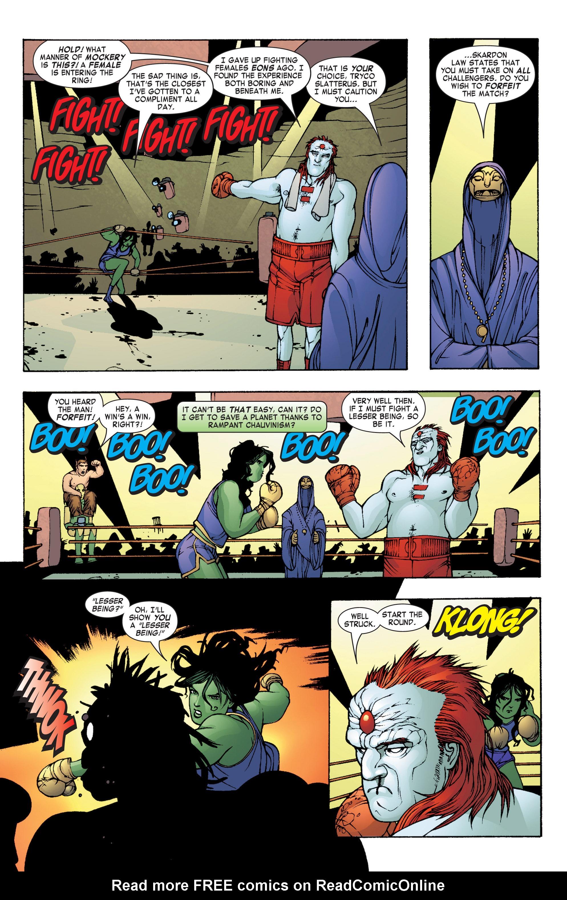 Read online She-Hulk (2004) comic -  Issue #8 - 10