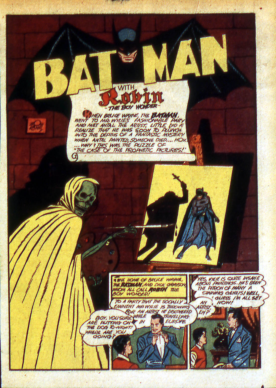 Read online Detective Comics (1937) comic -  Issue #42 - 3