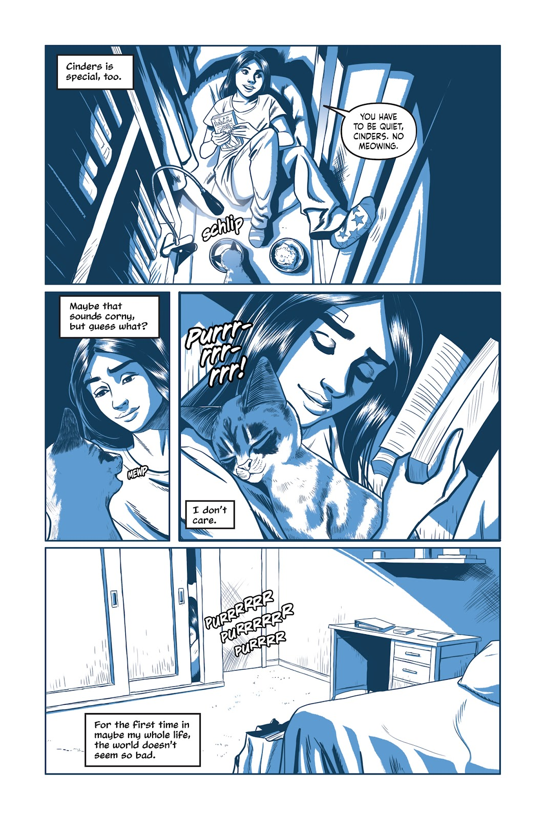 Read online Under the Moon: A Catwoman Tale comic -  Issue # TPB (Part 1) - 50