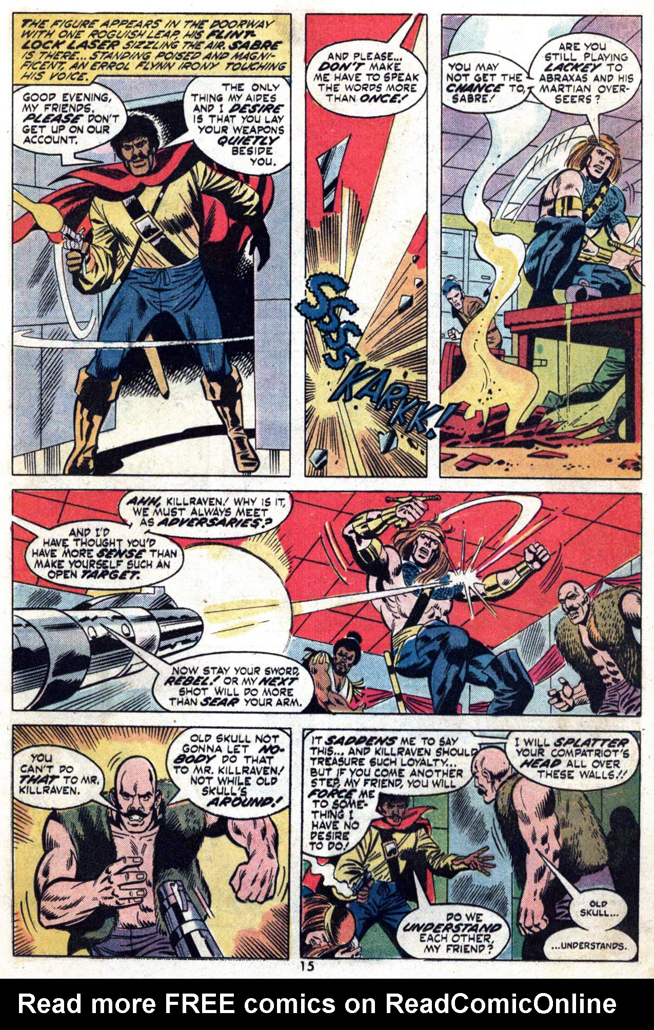 Read online Amazing Adventures (1970) comic -  Issue #24 - 16