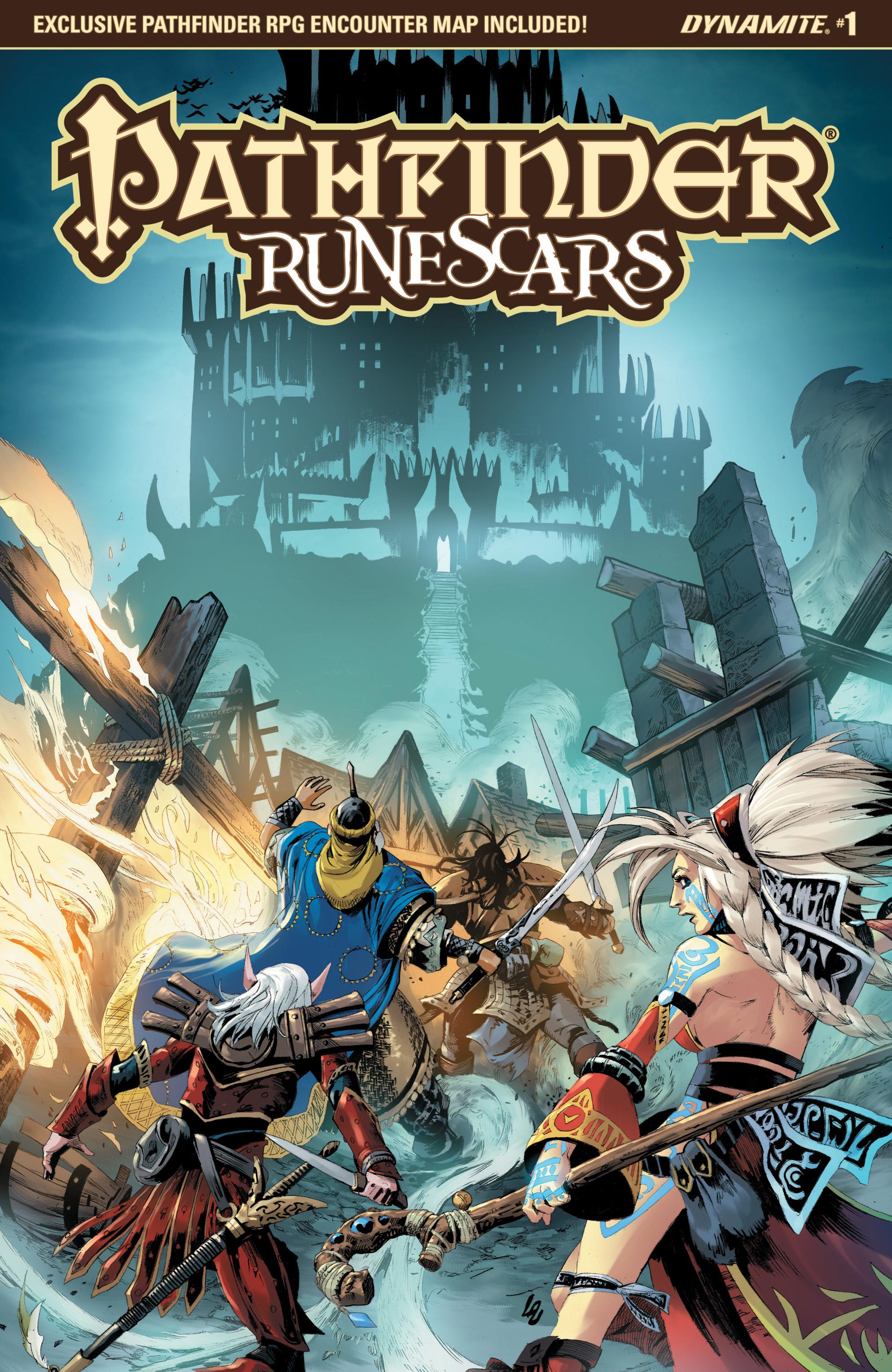 Read online Pathfinder: Runescars comic -  Issue #1 - 1