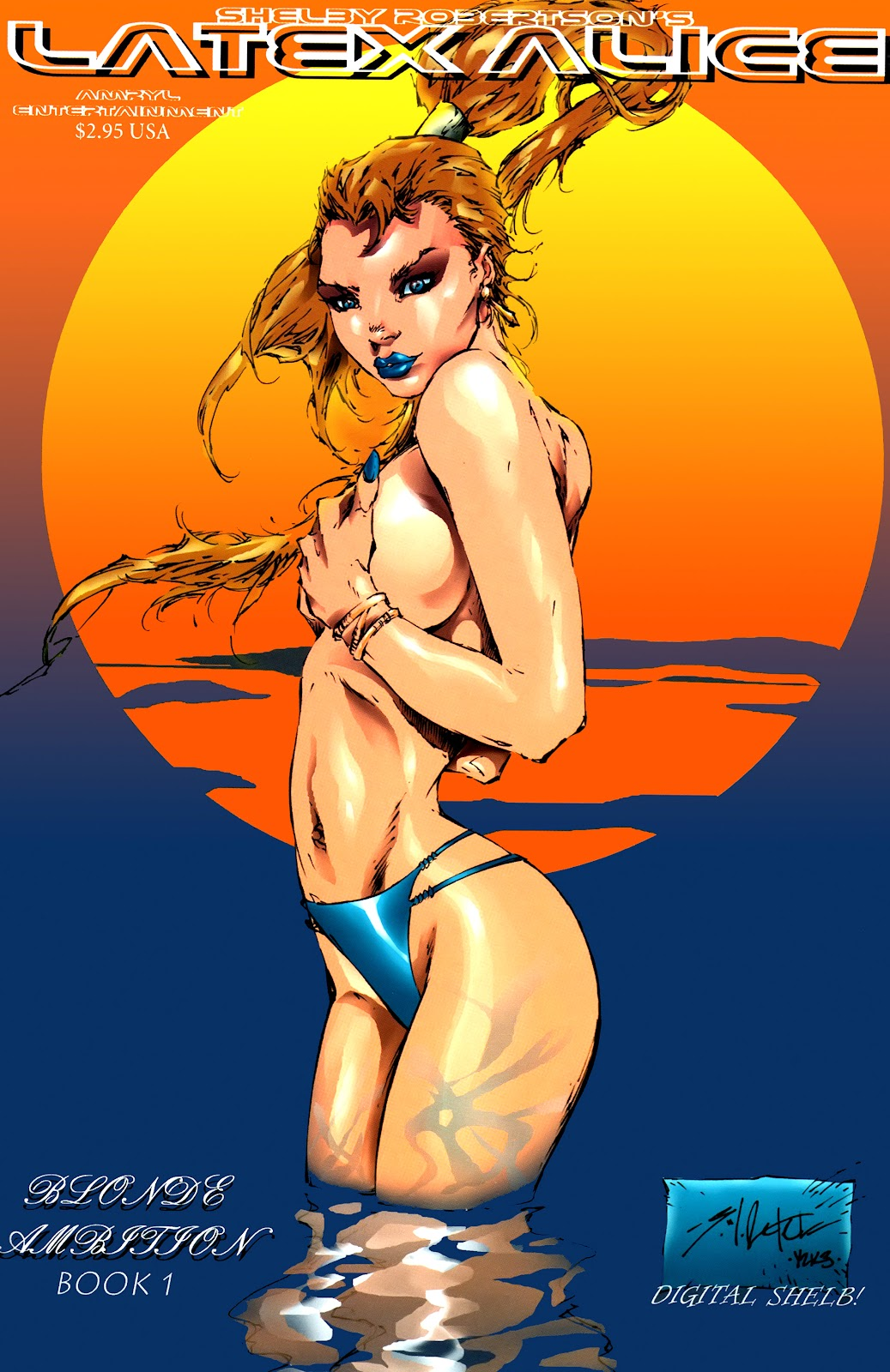 Read online Latex Alice - Blonde Ambition comic -  Issue # Full - 1