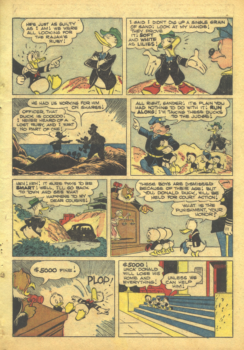 Walt Disney's Comics and Stories issue 103 - Page 11