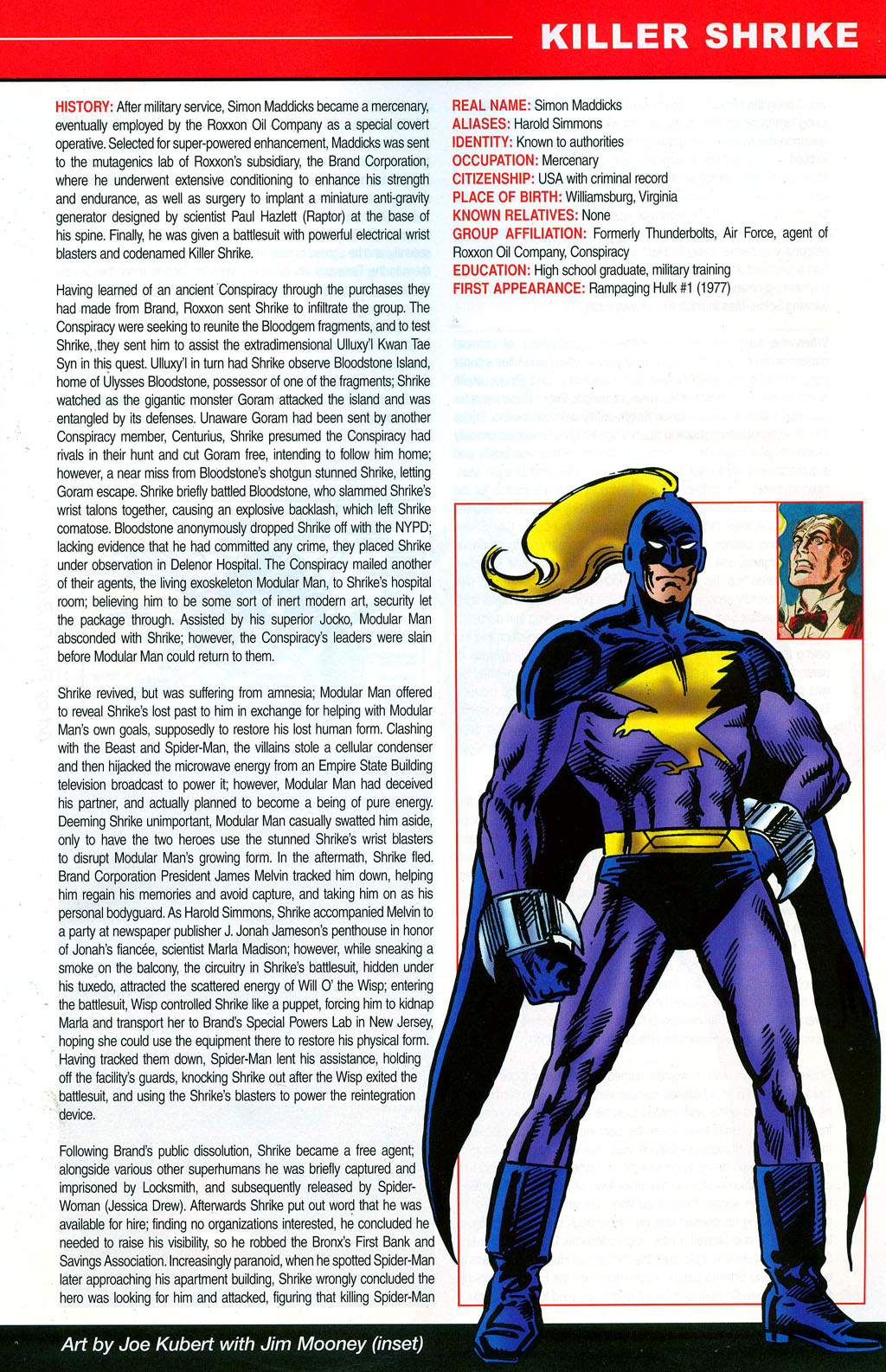 Read online All-New Official Handbook of the Marvel Universe A to Z: Update comic -  Issue #3 - 31