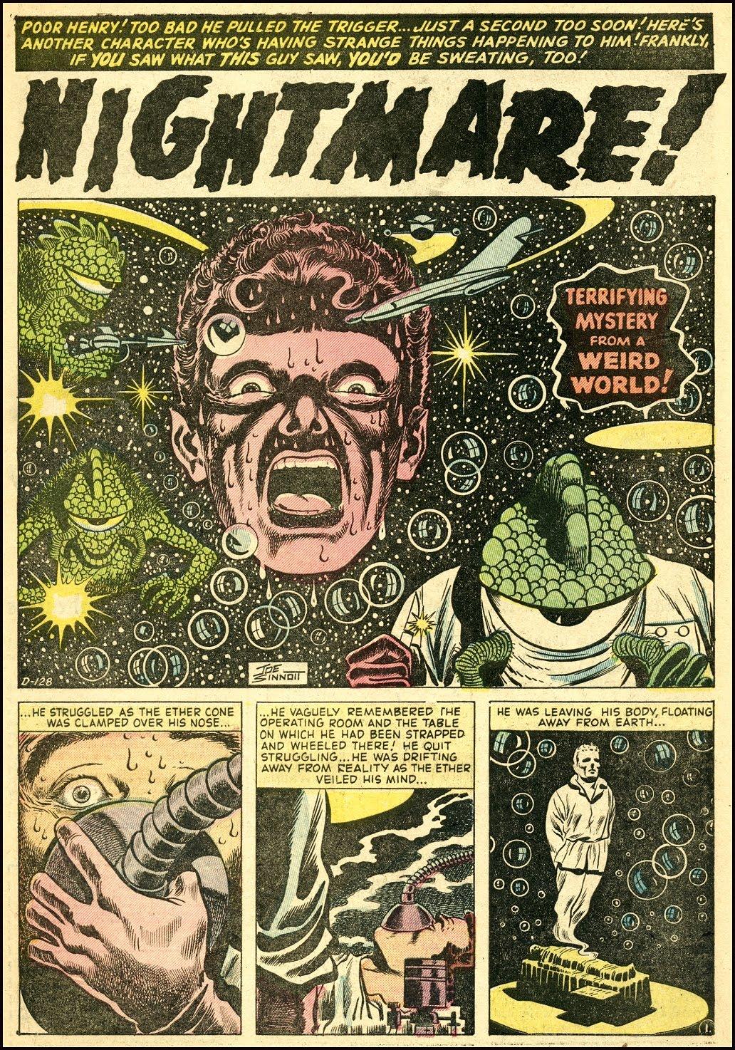 Read online Adventures into Weird Worlds comic -  Issue #25 - 14