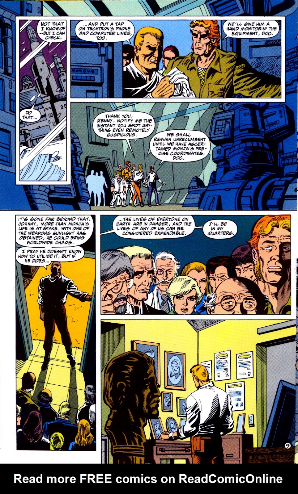 Doc Savage (1988) issue 13 - Page 11