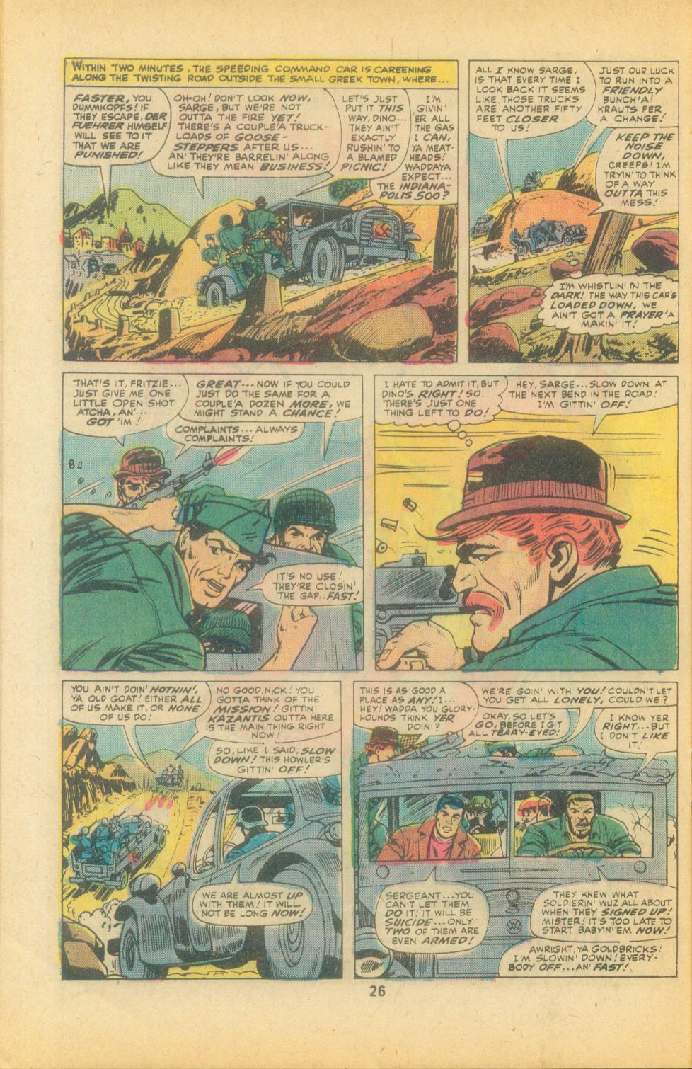 Read online Sgt. Fury comic -  Issue #135 - 28
