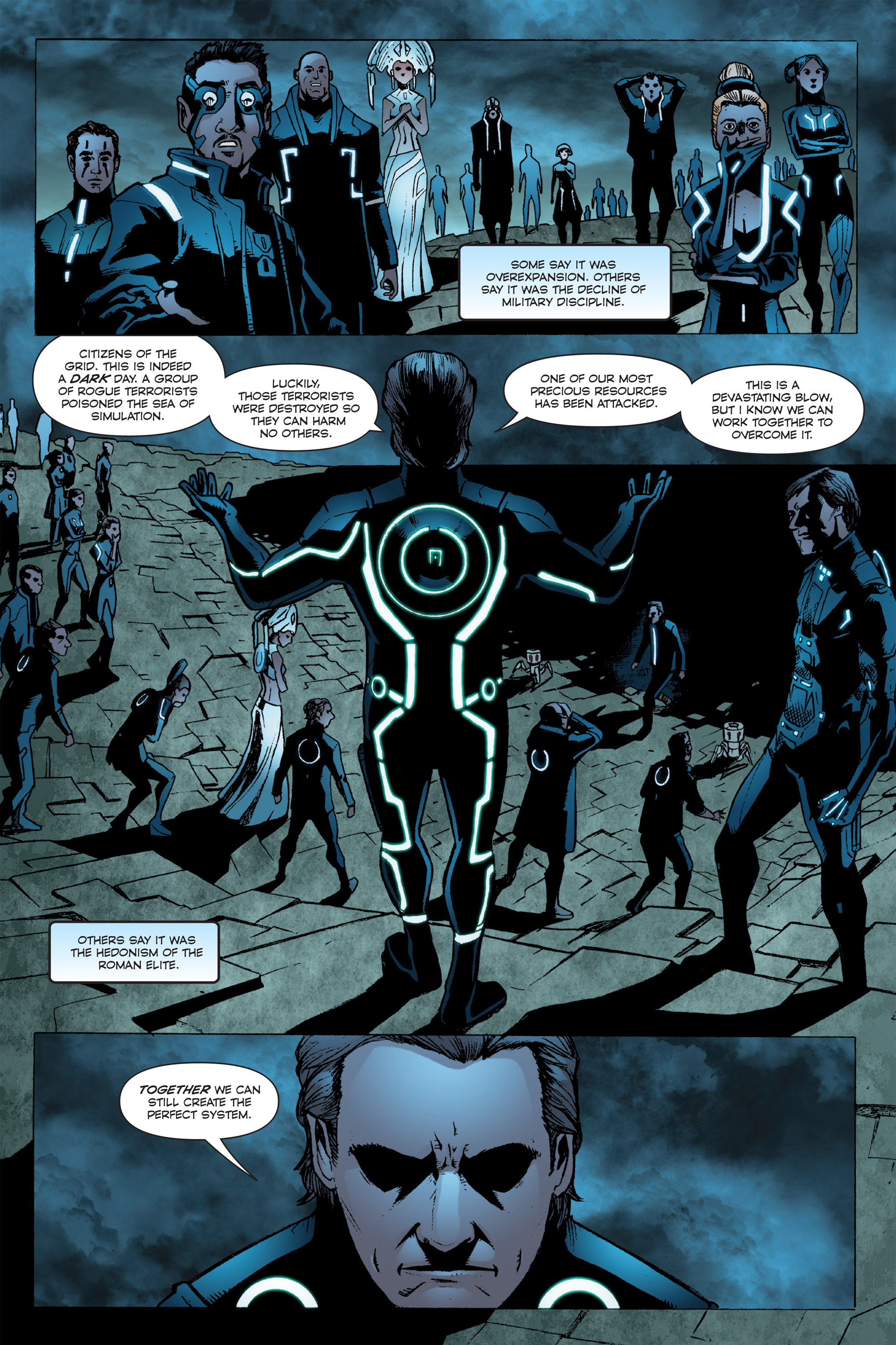 Read online TRON: Betrayal comic -  Issue # TPB - 106