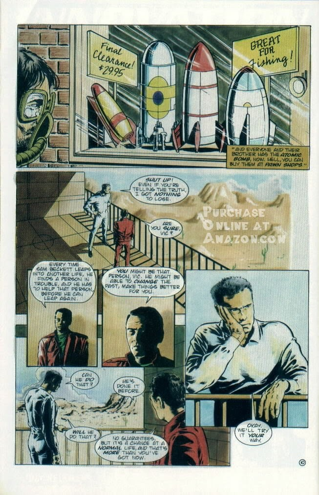 Read online Quantum Leap comic -  Issue #8 - 11