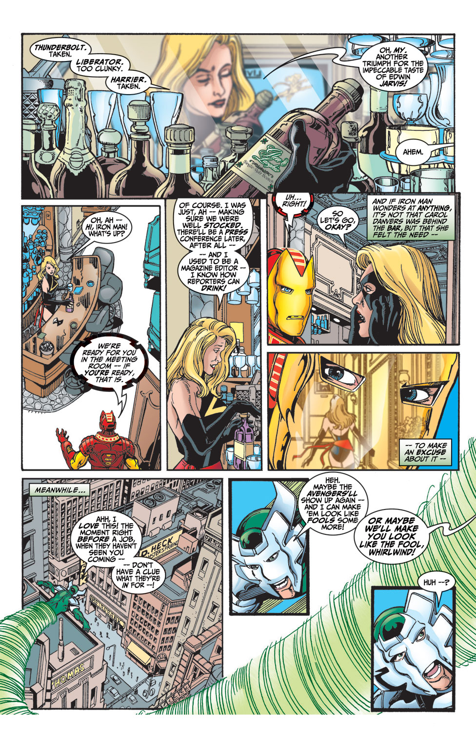 Read online Avengers (1998) comic -  Issue #4 - 16