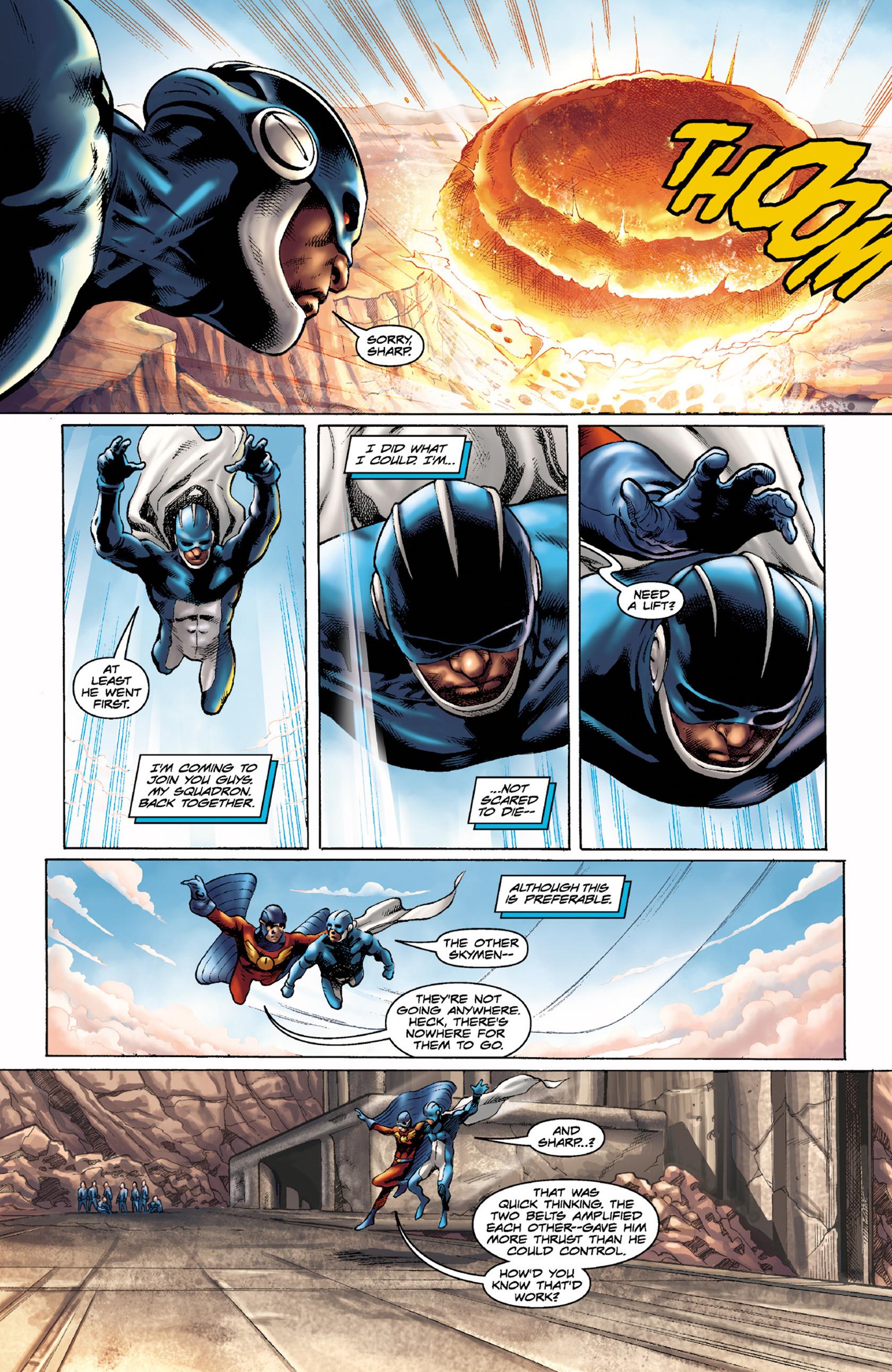 Read online Skyman comic -  Issue #4 - 14