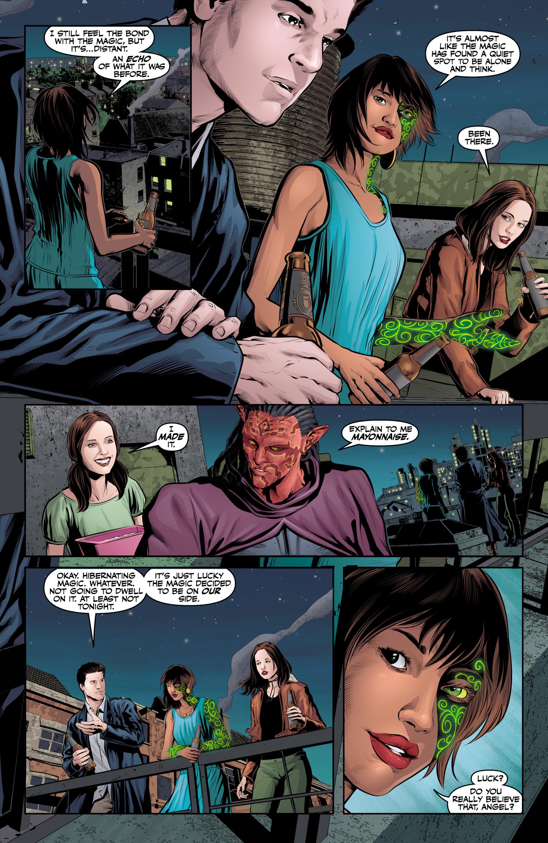 Read online Angel & Faith Season 10 comic -  Issue #25 - 21