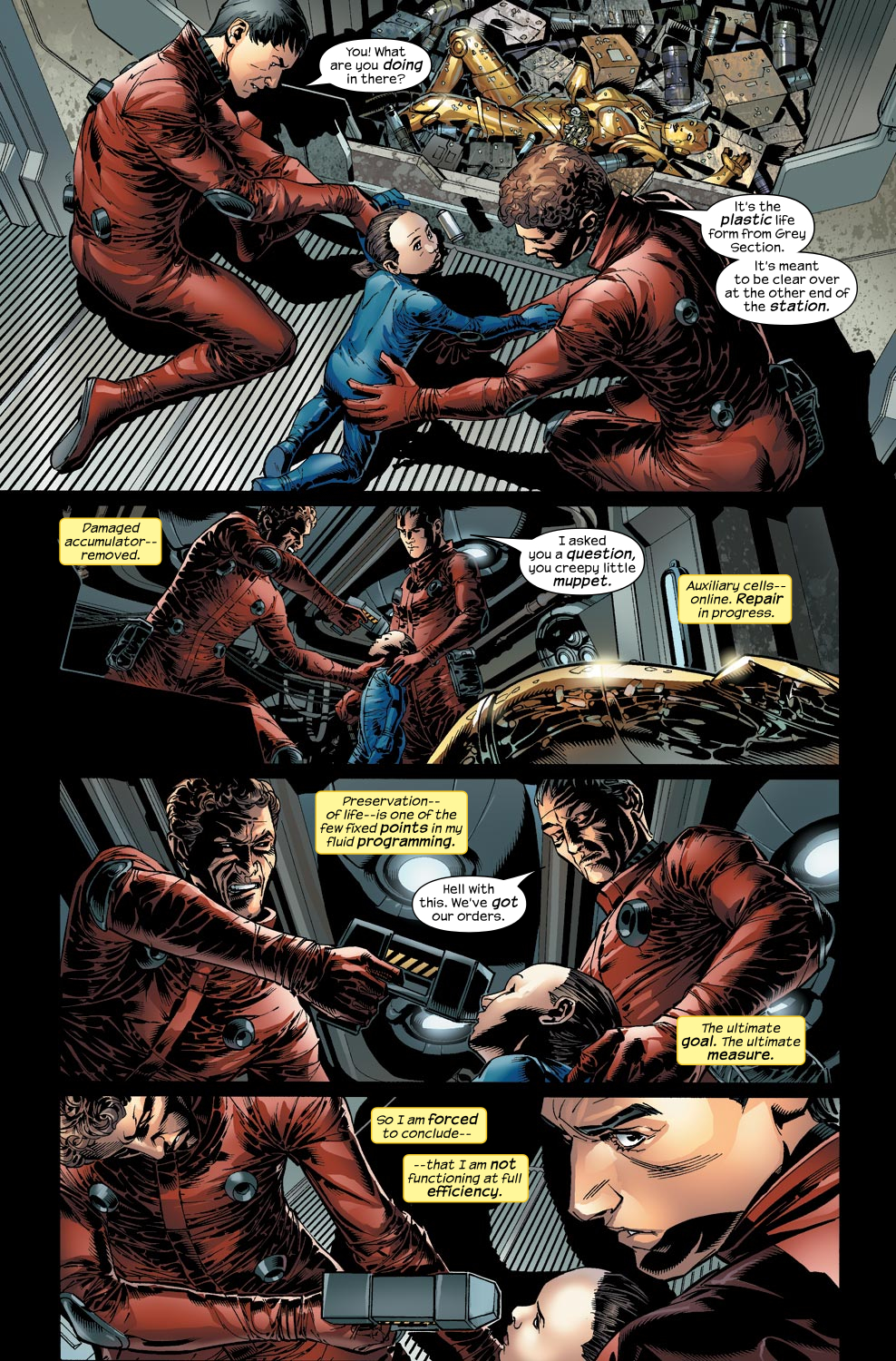 Read online Ultimate Vision comic -  Issue #2 - 20