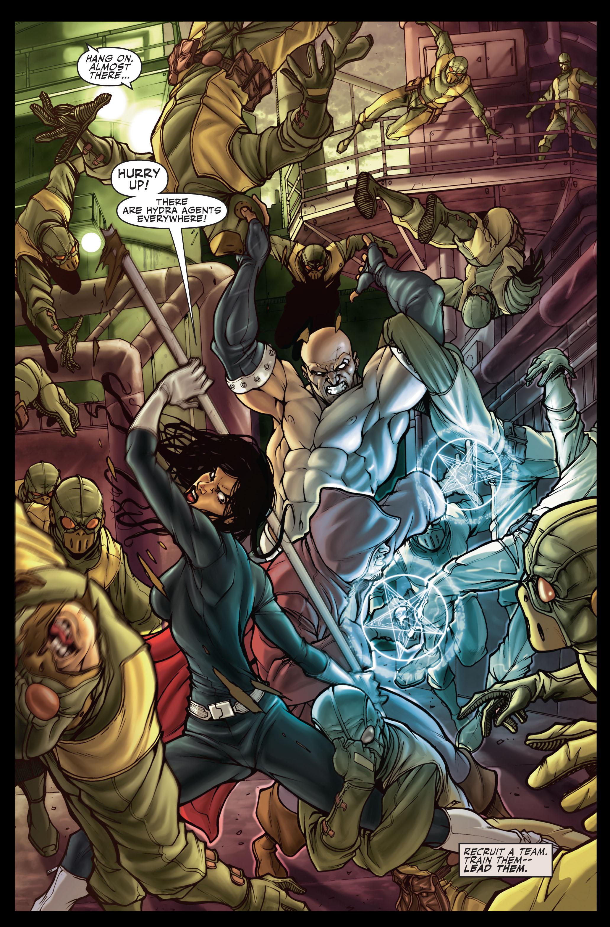 Read online Secret Warriors comic -  Issue #1 - 6