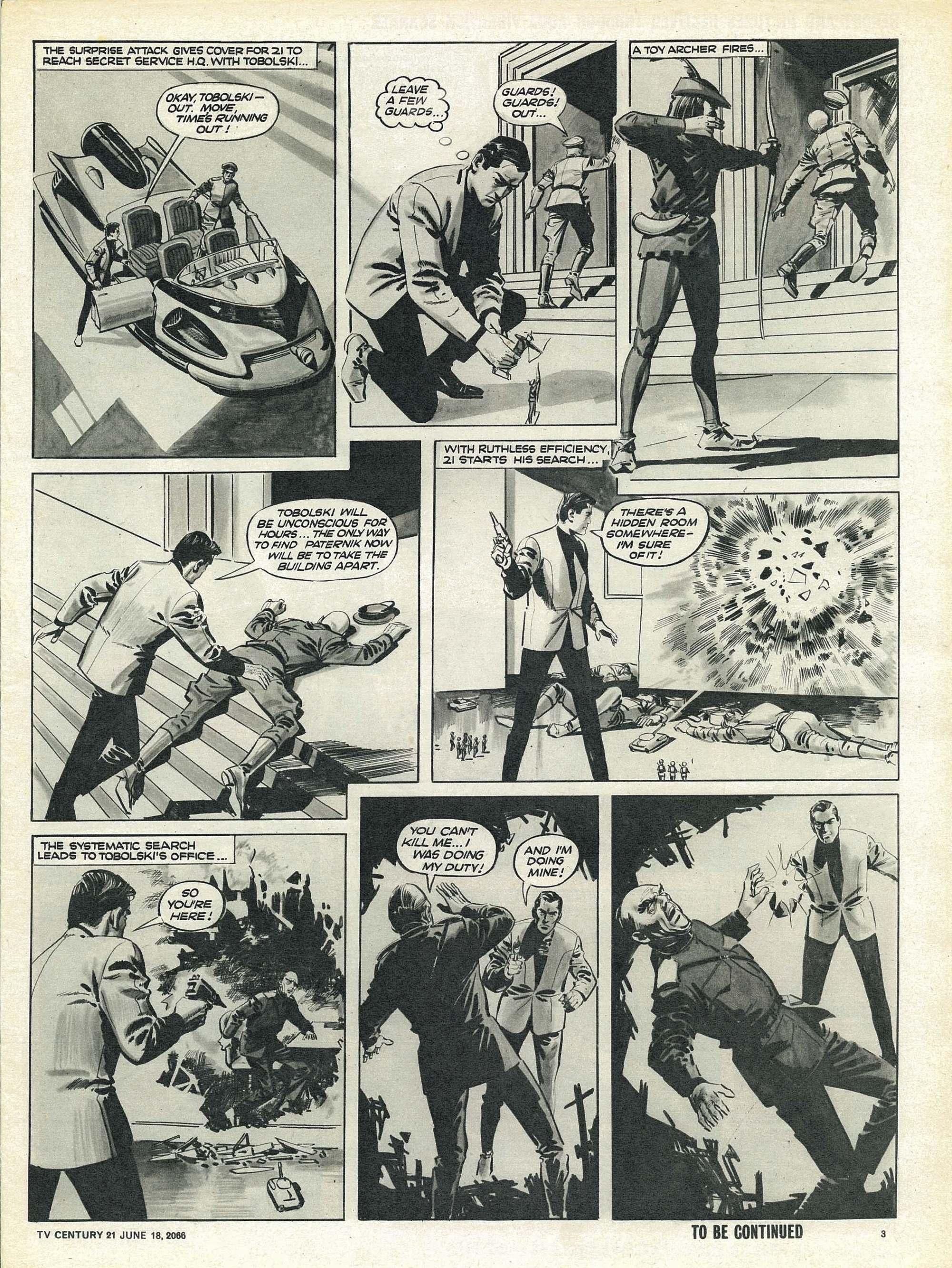 Read online TV Century 21 (TV 21) comic -  Issue #74 - 3
