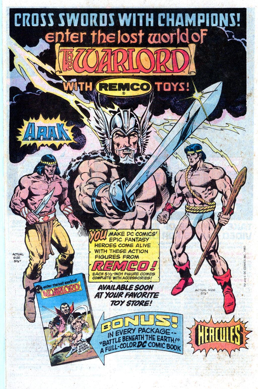 Read online Wonder Woman (1942) comic -  Issue #308 - 24