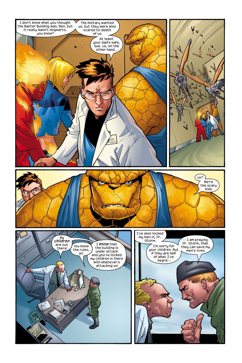 Read online Ultimate Fantastic Four (2004) comic -  Issue #9 - 9