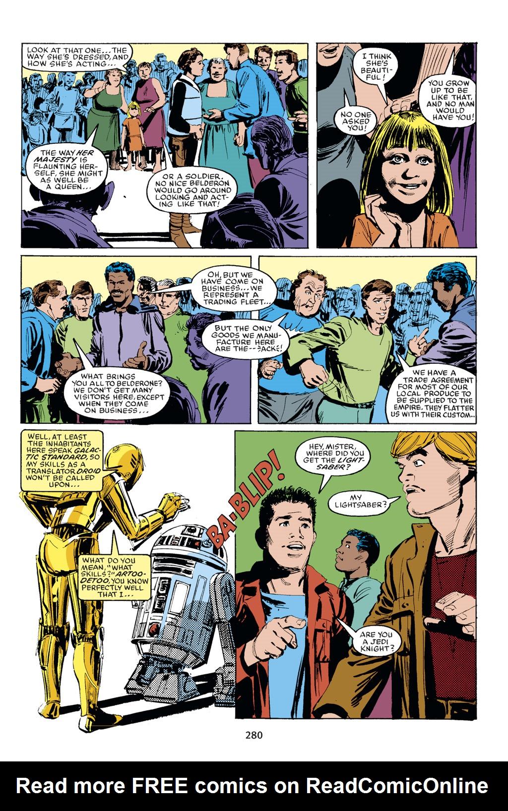 Read online Star Wars Omnibus comic -  Issue # Vol. 18 - 265